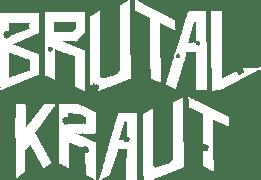 Brutal Kraut band-logo